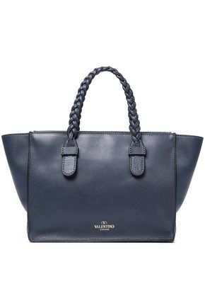 VALENTINO Pebbled-leather tote