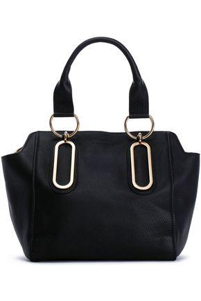 SEE BY CHLOÉ Embellished textured-leather shoulder bag