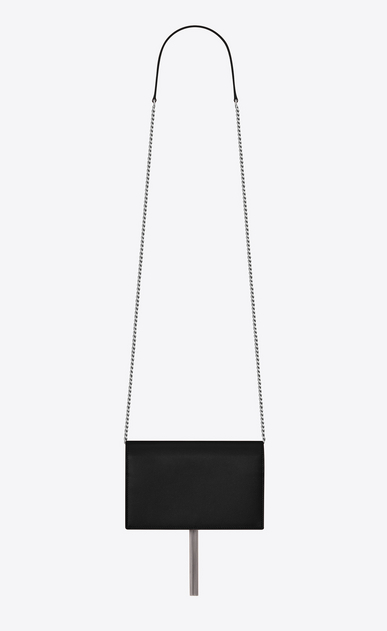 SAINT LAURENT Mini bags Kate Woman Kate chain wallet with tassel in grain de poudre embossed leather b_V4