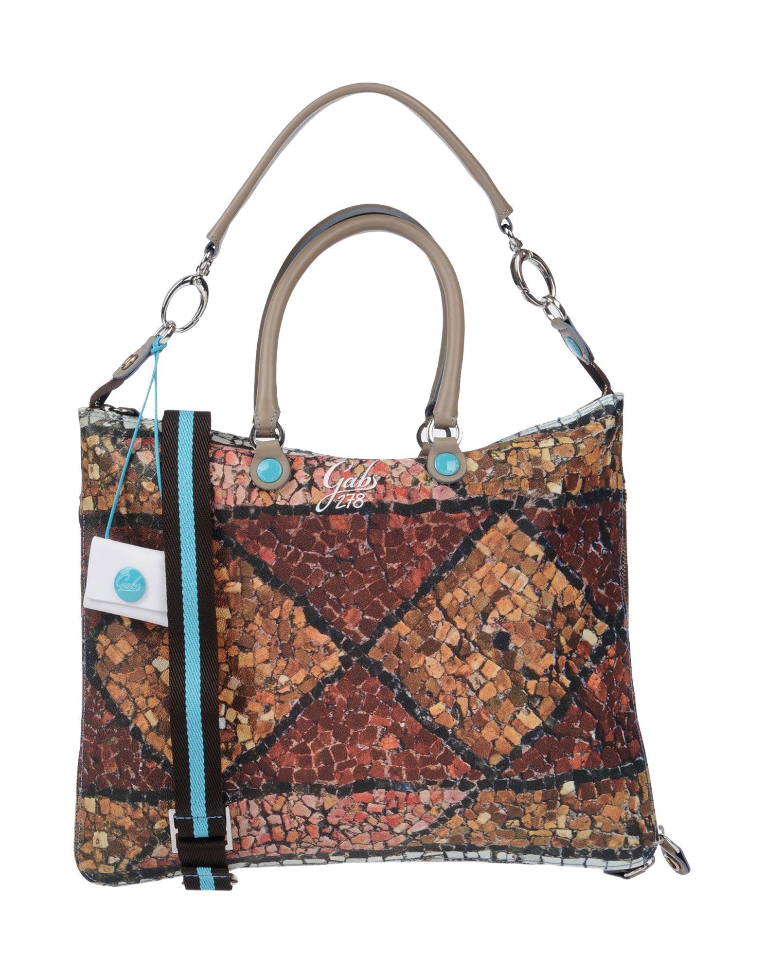 GABS Handbag in Brick Red