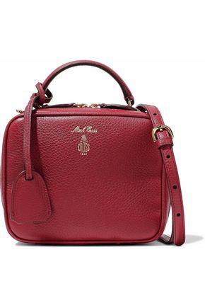 MARK CROSS Baby Laura pebbled-leather shoulder bag