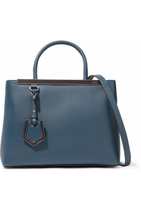 Petite 2 Jours Leather Tote by Fendi