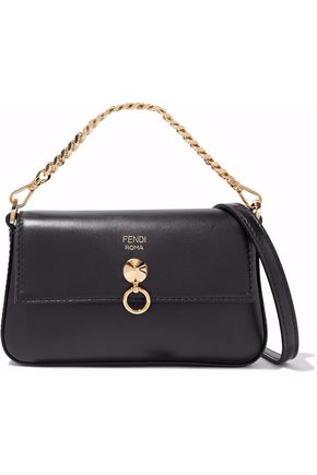 Fendi Baguette Mini Leather Shoulder Bag