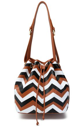 02347c2ca7219 Printed leather bucket bag | MISSONI | Sale up to 70% off | THE OUTNET