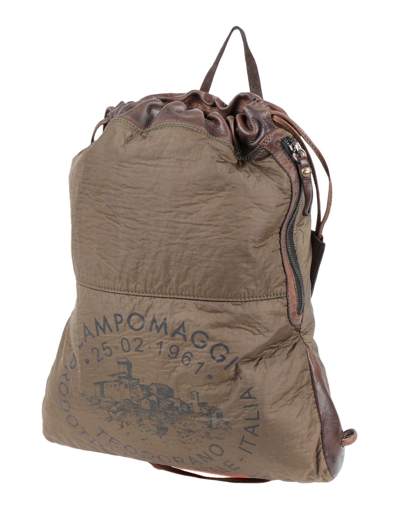 CAMPOMAGGI Backpacks & Fanny Packs in Green