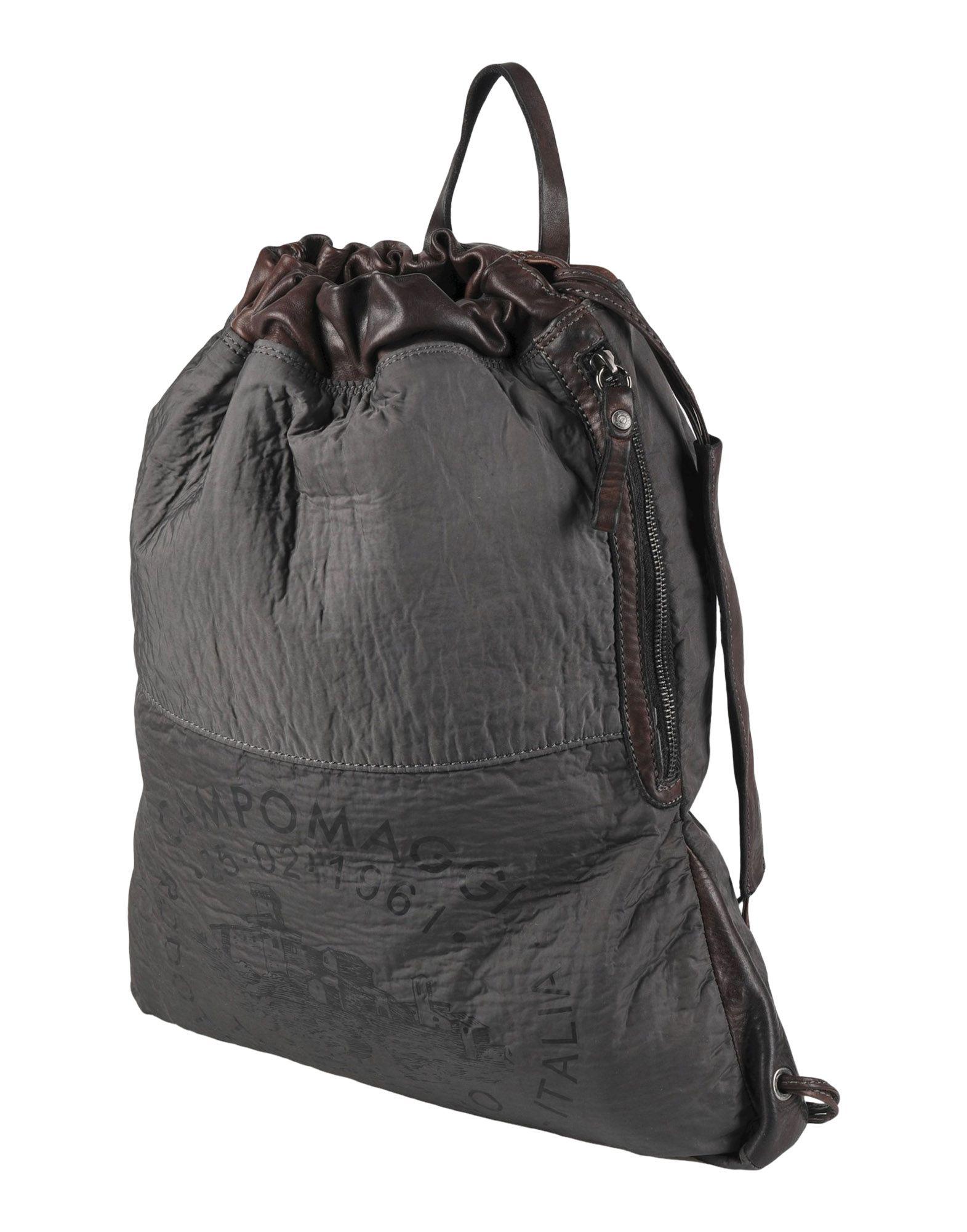 CAMPOMAGGI Рюкзаки и сумки на пояс мужские сумки