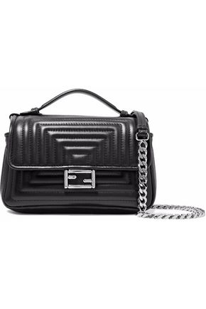 FENDI Baguette quilted leather shoulder bag