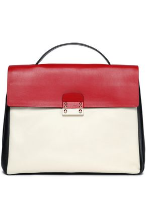 VALENTINO Mime color-block leather tote