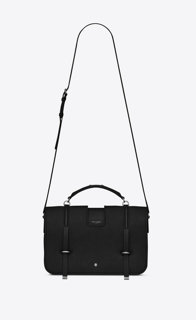 SAINT LAURENT Shoulder Bags Y Woman large charlotte messenger bag in black leather a_V4