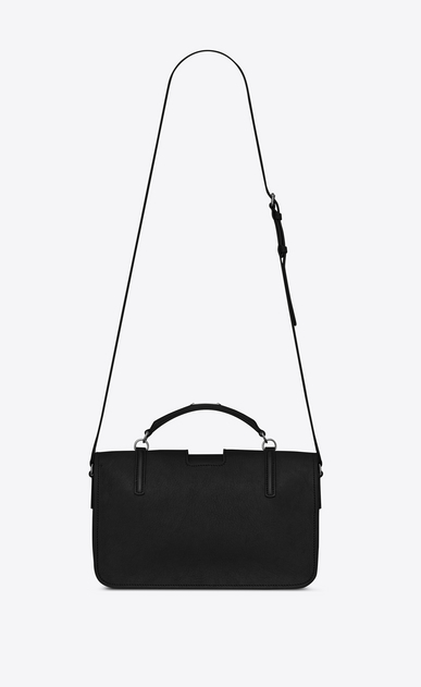 SAINT LAURENT Shoulder Bags Y Woman large charlotte messenger bag in black leather b_V4