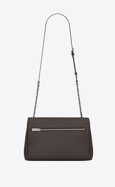 SAINT LAURENT West Hollywood Damen medium west hollywood bag in earth grey textured leather b_V4