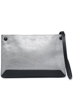 RAG & BONE Metallic leather shoulder bag