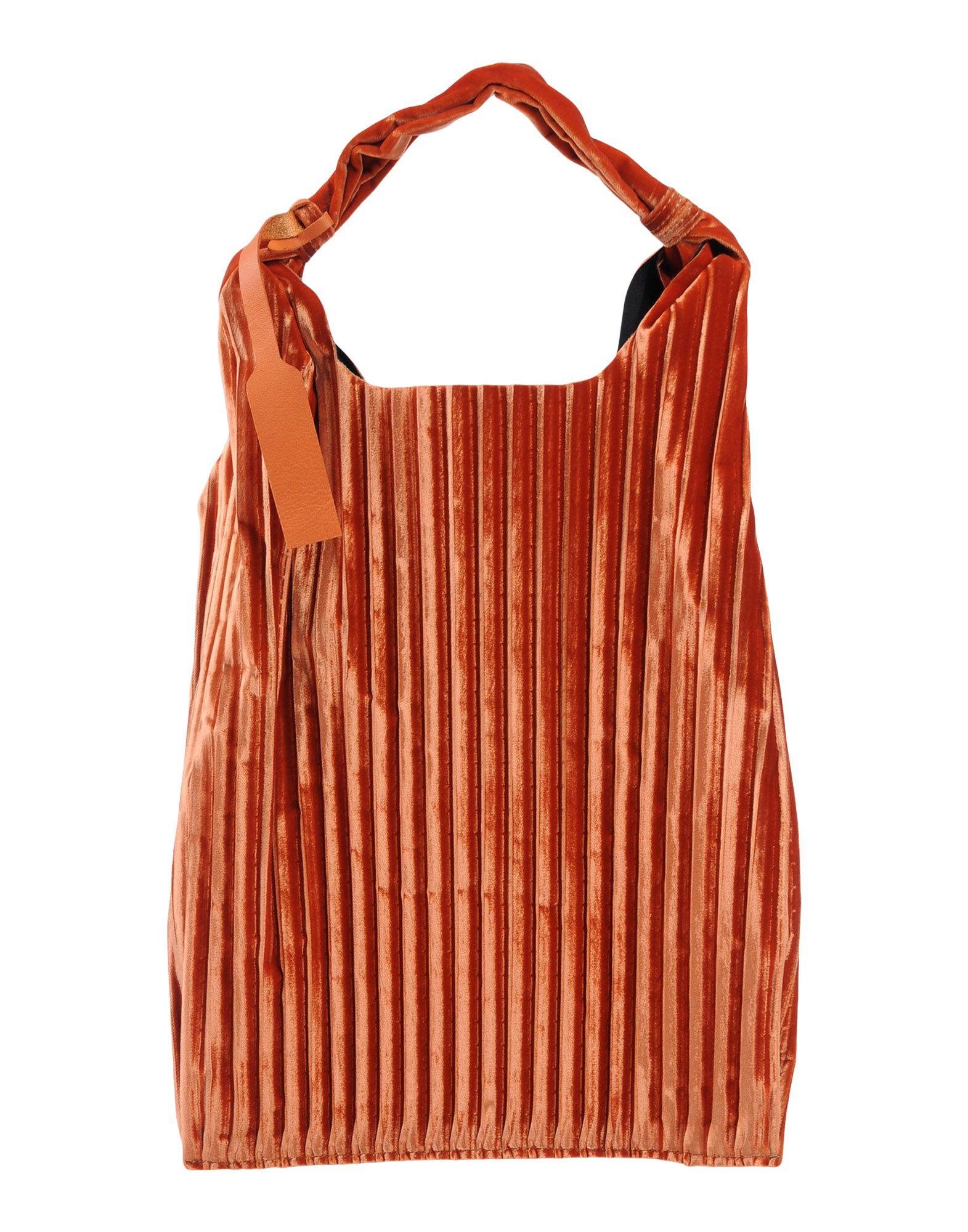 《送料無料》ANITA BILARDI レディース ハンドバッグ レッド 紡績繊維
