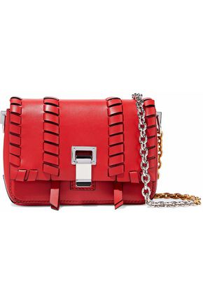 PROENZA SCHOULER Courier whipstitched leather shoulder bag
