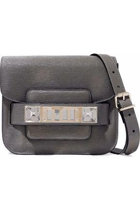PROENZA SCHOULER PS11 Tiny textured-leather shoulder bag