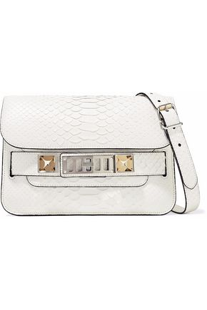 PROENZA SCHOULER PS11 Mini Classic python shoulder bag