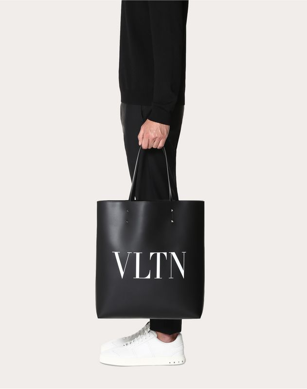 VLTN Leather Tote