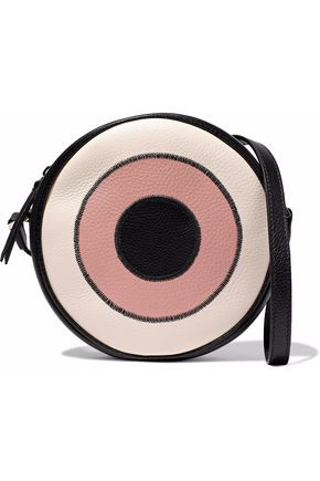 REDValentino Textured-leather shoulder bag