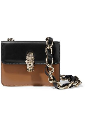 REDValentino Two-tone leather shoulder bag