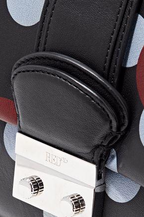 RED(V) Polka-dot leather shoulder bag