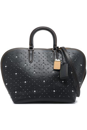 COACH Studded leather tote