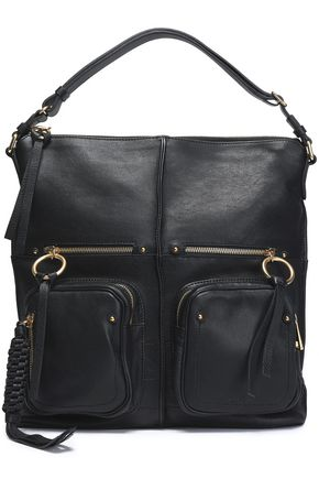 SEE BY CHLOÉ Patti textured-leather tote