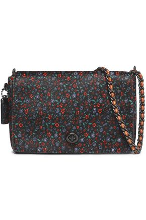 COACH Printed calf hair shoulder bag