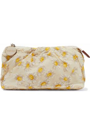 RED(V) Floral-print shell clutch