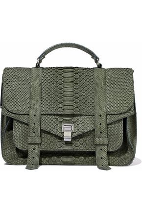 PROENZA SCHOULER PS1 python shoulder bag