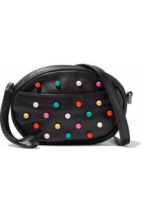 REDValentino Studded faux leather shoulder bag