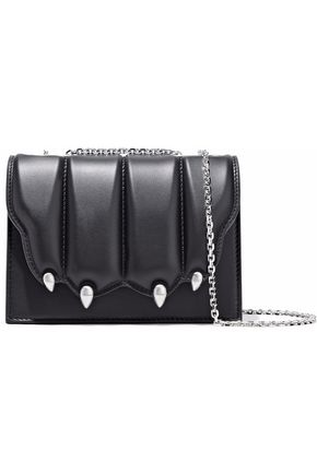 MARCO DE VINCENZO Embellished quilted leather shoulder bag