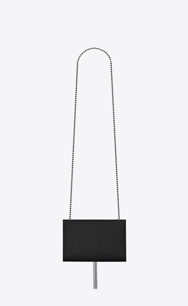 SAINT LAURENT MONOGRAM KATE WITH TASSEL Woman kate small with tassel in grain de poudre embossed leather b_V4