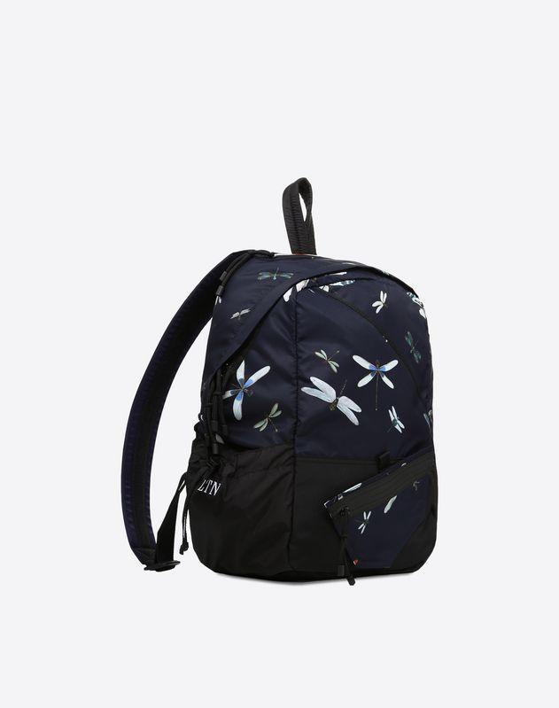 Dragonfly print rucksack