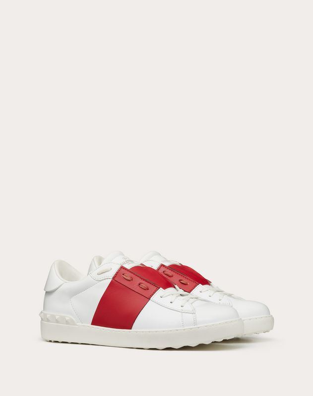 Open Low-Top Sneaker