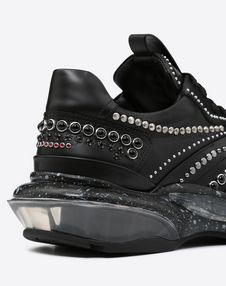 BOUNCE TRAINER WITH CABOCHONS AND CRYSTALS