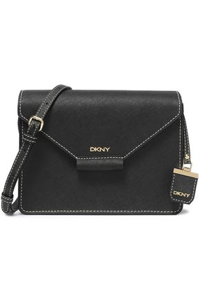 DKNY Textured-leather shoulder bag