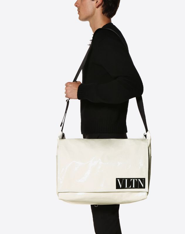Large VLTN Messenger Bag