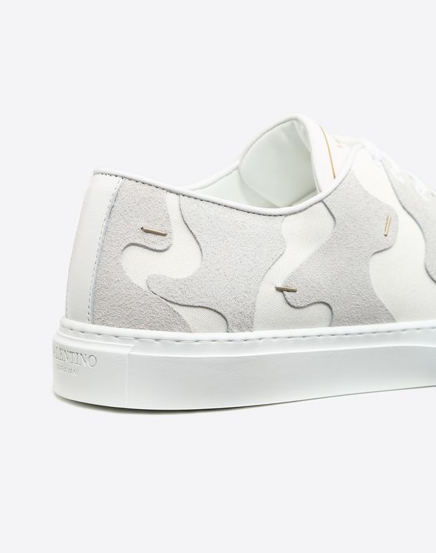 Camouflage Low-Top Sneaker