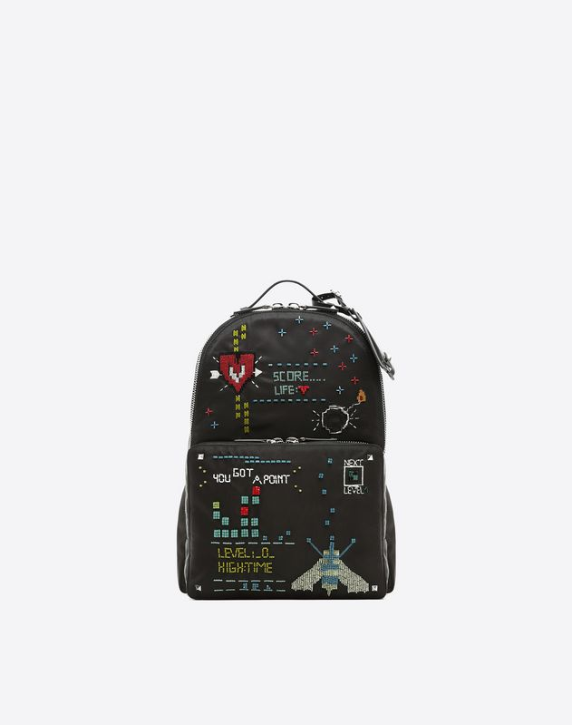 Arcade embroidered backpack