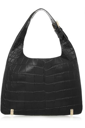 GIVENCHY House de Givenchy small croc-effect leather shoulder bag