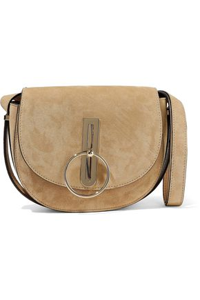 NINA RICCI Compas suede shoulder bag