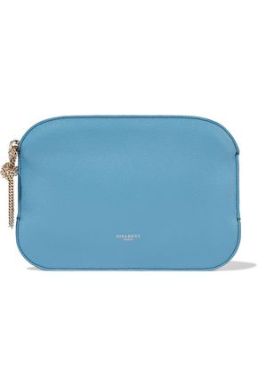 NINA RICCI Textured-leather clutch