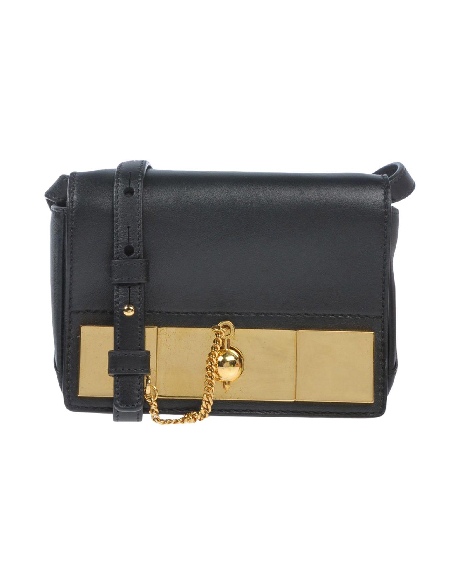 ANTHONY VACCARELLO Handbag in Black