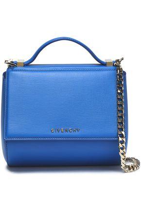 996986dd1e GIVENCHY Pandora Box mini textured-leather shoulder bag ...