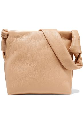 THE ROW Wander pebbled-leather shoulder bag