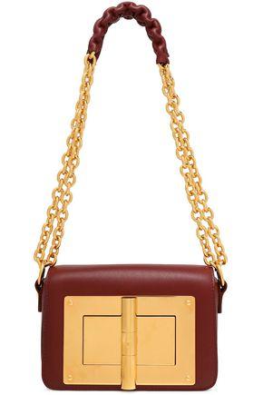 TOM FORD Embellished leather shoulder bag