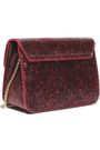 FURLA Glittered leather shoulder bag