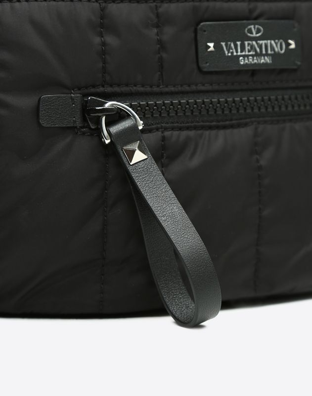 Quilted Nylon Belt Bag