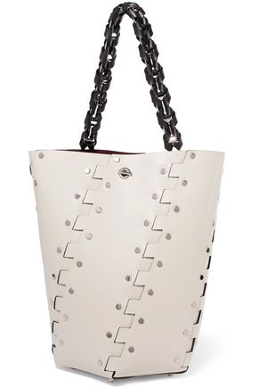 PROENZA SCHOULER Studded leather bucket bag