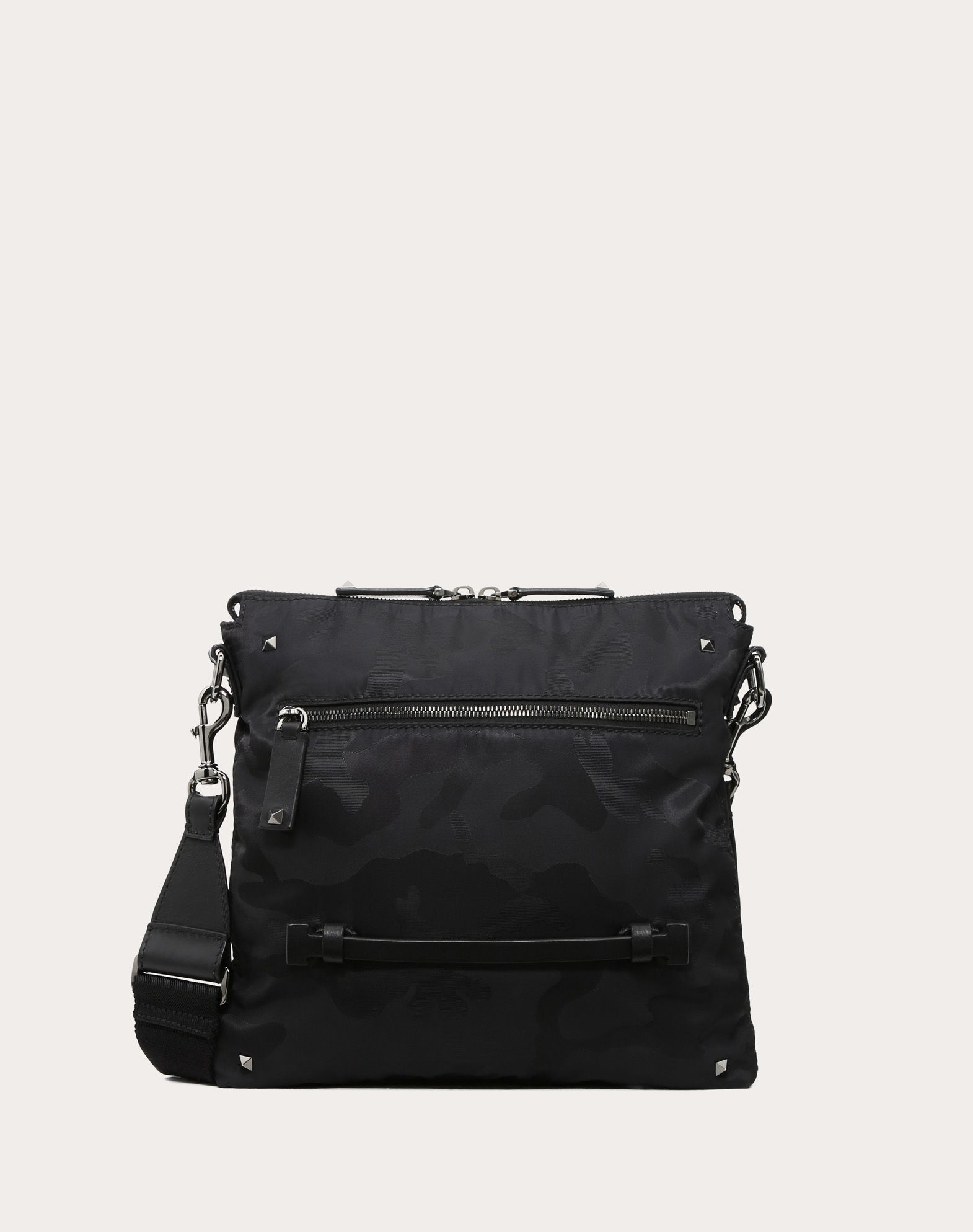 NYLON CAMOUFLAGE NOIR CROSSBODY BAG